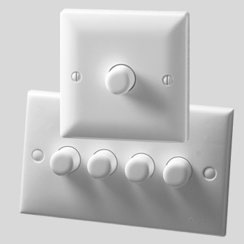 Rotary and Push Dimmers